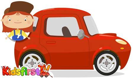 Doctor Mcwheelie & The Red Car. Cartoons For Children