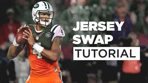 jersey swap deshaun watson   york jets tutorial youtube