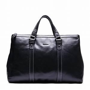Sac De Voyage Cuir Homme : sac de voyage 48 h en cuir noir pour homme leopold ~ Melissatoandfro.com Idées de Décoration