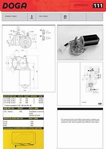 Valeo Wiper Motor Datasheet