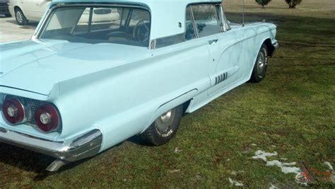 1958 Ford Thunderbird Newer Paint Radio New 4bbl Holly