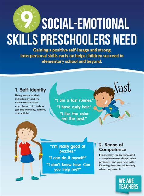 social emotional skills preschoolers