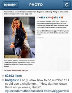 Rhymes With Sni... Rihanna Ig Quotes