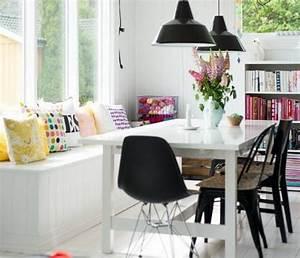 quelle deco salle a manger choisir idees en 64 photos With meuble de salle a manger avec coussin style scandinave pas cher