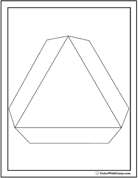 shape coloring pages color squares circles triangles