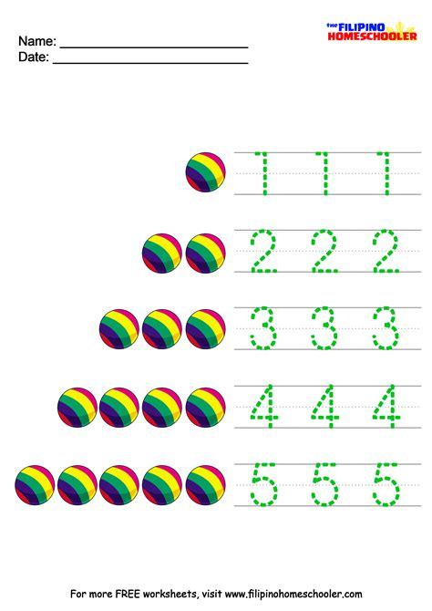 Pre K Worksheets Number Recognition  Math Worksheets Number Recognitionnumber Recognition