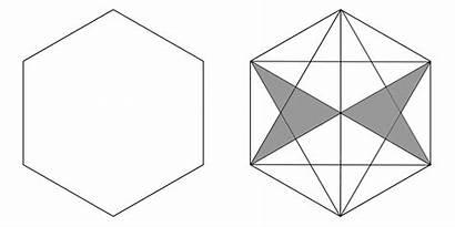 Regular Hexagons Polygons Properties Hexagon Triangles Geometry