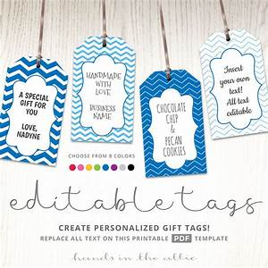 editable gift tags gift tag template text editable chevron With tags for gift bags template