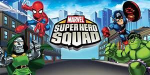 Marvel, Super, Hero, Squad