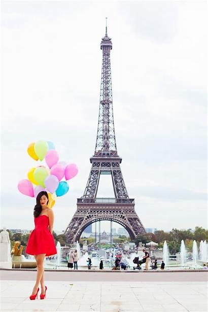 Paris Eiffel France Tower Pepper Balloons Nicole
