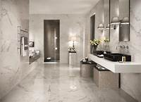 marble tile bathroom 8 Tips To Choose The Best Tile Floors For Every Room