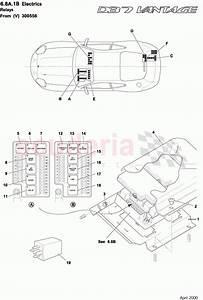 Aston Martin Db7 Vantage Relays 1  From Vin 300556  Parts