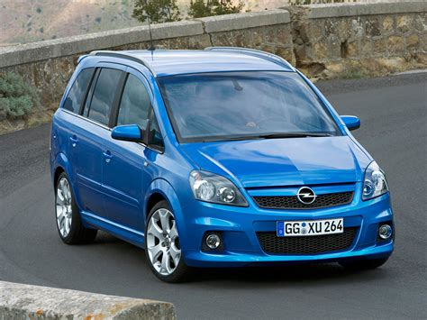opel zafira opel zafira opc technical details history photos on