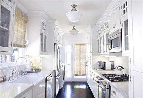 examples  galley kitchen lighting    impressive interior design inspirations