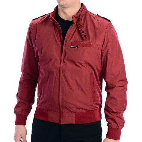 Members Only Iconic Racer Jacket (For Men) 6591G - Save 56%