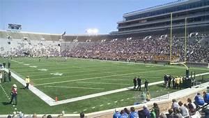 Notre Dame Stadium Row Chart Notre Dame Stadium Section 22 Rateyourseats Com