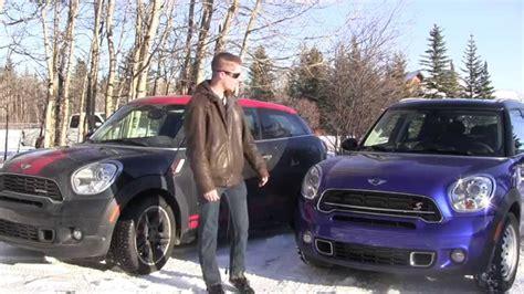 mini countryman   mini paceman jcw winter review