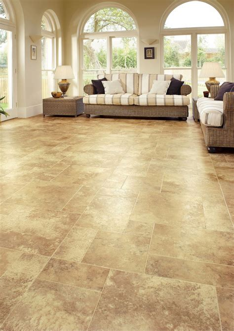 luxury vinyl floors brown color luxury vinyl wood flooring for large living room with rattan ottoman table and