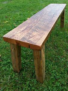 Reclaimed, Barn, Wood, Farmhouse, Bench, Entryway, Bench, Hardwood, Rustic, Bench, Old, Growth, Timber