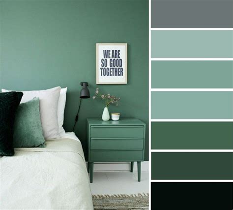 grey and green bedroom color ideas home color ideas