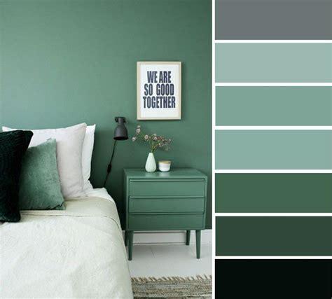 Grey And Green Bedroom Color Ideas  Home Color Ideas