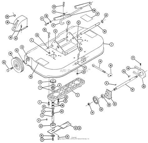 Toro Rear Engine Rider Parts Diagram For Lawn