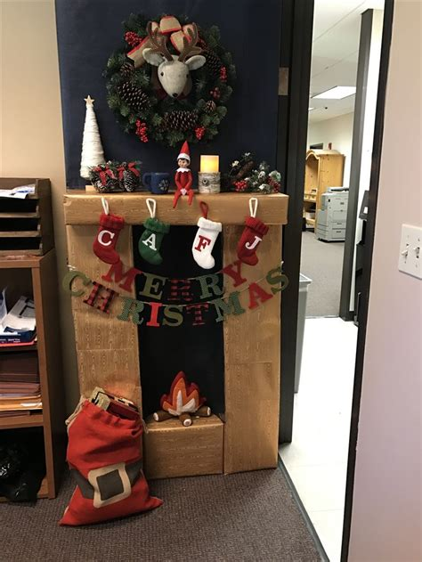 3d christmas door decorations 3d office door for decorating contest with on the shelf all items from target