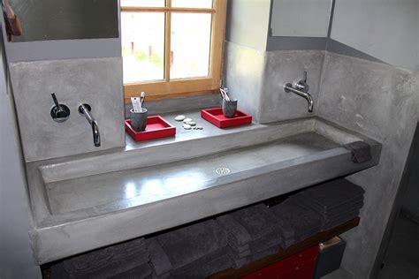 beton cire cuisine cuisine beton cire bois ides dco pour une salle de bain