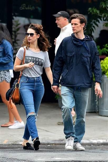 Lily James Boyfriend Matt Smith York Nyc