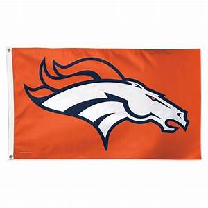 Denver Broncos Logo Flag your NFL Logo Flag source