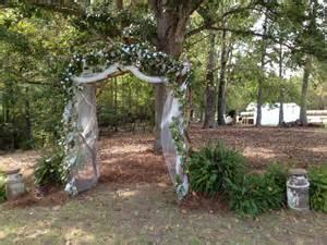 rustic wedding rentals rustic cedar wedding arch mcmahon event rentals
