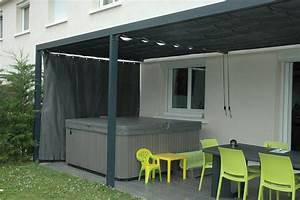 Rideau Exterieur Pour Terrasse : rideau brise vue exterieur brise vue toile balcon idmaison ~ Farleysfitness.com Idées de Décoration