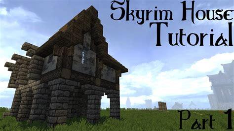 minecraft skyrimsolitude building tutorial part  youtube