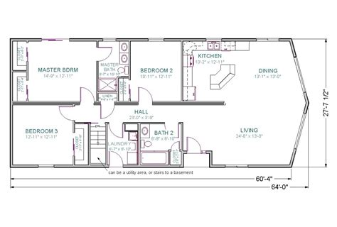 one house plans with walkout basement one house plans with finished walkout basement
