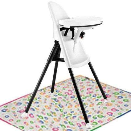 baby bjorn high chair with splat mat white easy fold