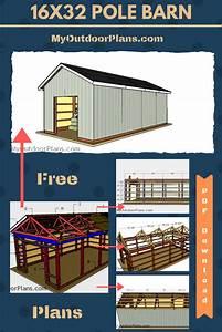 16 U00d732 Pole Barn  U2013 Free Diy Plans