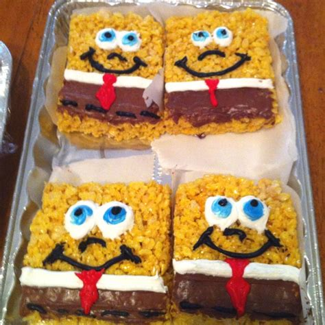 spongebob cuisine 8 best spongebob theme food images on