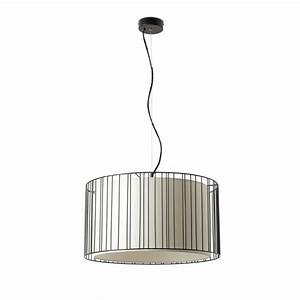 Comprar Lámpara de Techo negra acabado rejilla Comprar lámpara para techo estilo clásico
