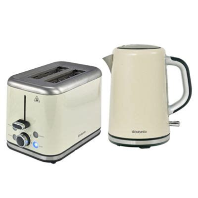 kettle and toaster sets buy brabantia bqpk07 almond breakfast kettle and 2 slice