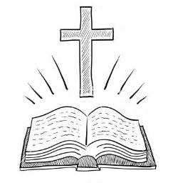 Christian Cross and Bible