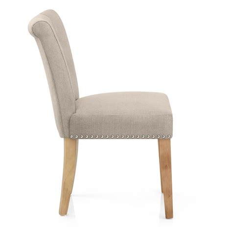 tissu chaise chaise buckingham en tissu et bois monde du tabouret