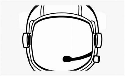 Helmet Astronaut Clipart Space Transparent