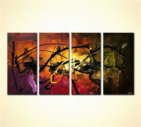 paintings home decor buy home decor abstract painting multi panel 4717