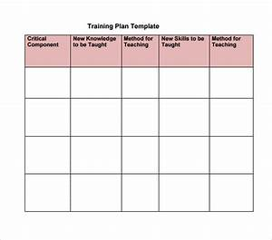 sample training calendar if you think you39d be a good With team training plan template