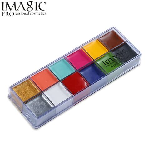 imagic face paint palette body painting flash tattoo 12