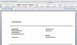 Lieferschein Muster Kostenlos Download : download lieferschein vorlage autofreund24 ~ Themetempest.com Abrechnung