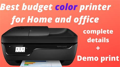 To begin with hp printer downloads, you must launch your preferred web browser on your computer. HP Deskjet ink Advantage 3835 printer features+ test print |हिंदी | - YouTube