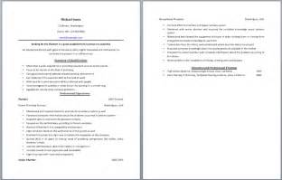 Sle Resume Plumber Apprentice by Plumbing Resume Templates