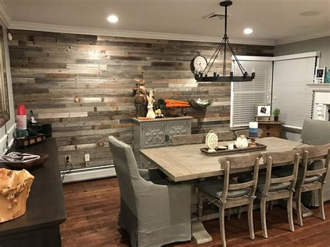 reclaimed peel  stick solid wood wall paneling