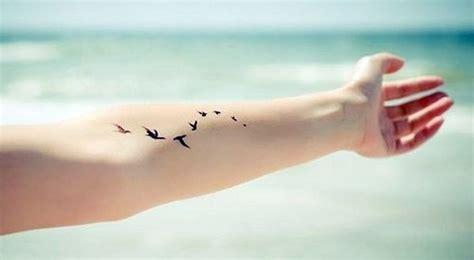 Interessante Ideenunterarm Tattooidee Kleine Voegel by Interessante Ideen Ideen